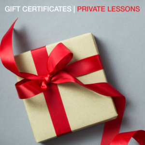 4 (60 Minute) Private Lessons - Direct Mail to Purchaser Gift Certificate